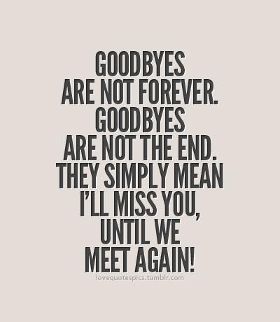 Goodbye. – Awesomely Unprepared